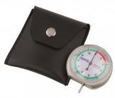 Измеритель глубины протектора стрелочный 0-11 мм с чехлом 33640-67
